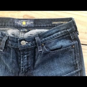 Lucky Brand Jeans Sweet'N Straight Dark Wash W32